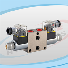 DS4WE Series Solenoid Operated Directional Control Stackable Valves